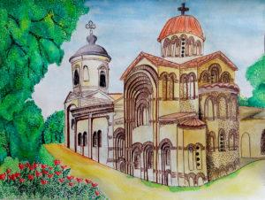 Пямят живёт в веках . Церковь Ионна Предтечи. Мищенко Мария